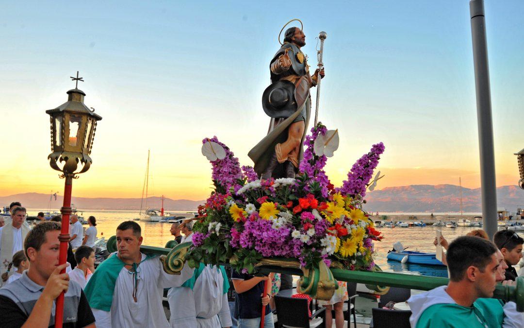 Proslava sv. Roka u Sutivanu