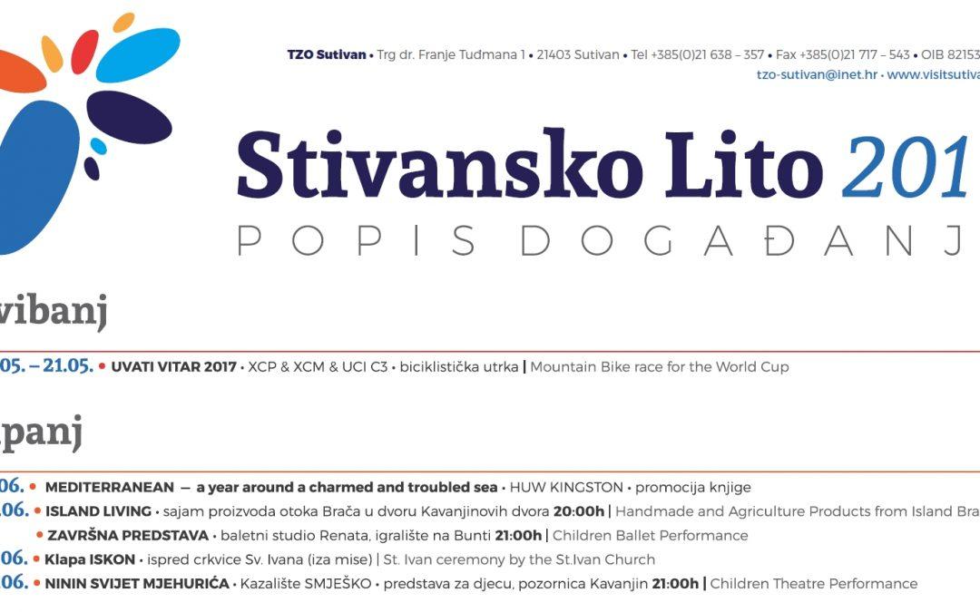 Kompletan program Stivanskog lita 2017