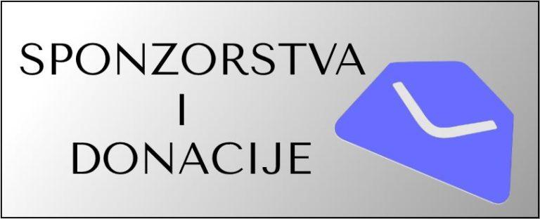 Donacija iz Ministarstva regionalnog razvoja i fondova EU