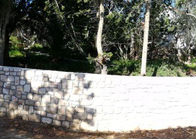 Zid u ulici Hrvatskih velikana