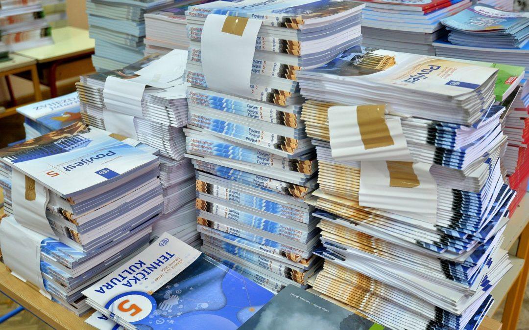 Financiranje udžbenika i radnih bilježnica