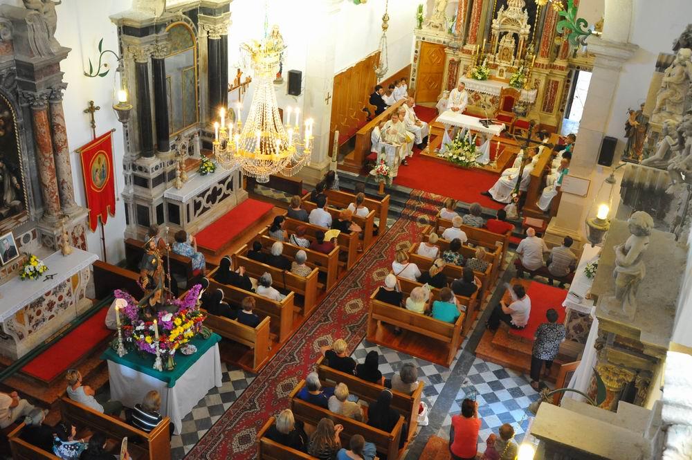 Program proslave Vele Gospe i sv. Roka