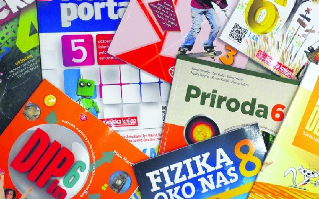 Dodjela sredstava za kupnju školskih knjiga 1. – 4. razred