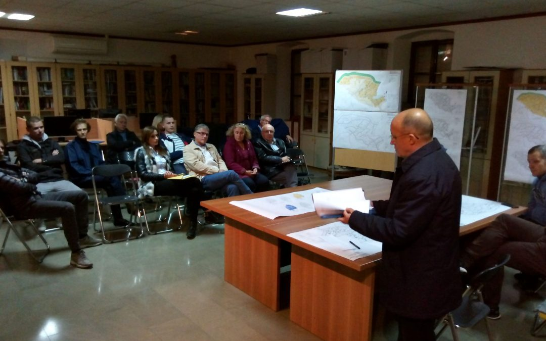 Javno izlaganje o prijedlogu izmjena i dopuna Urbanističkog plana uređenja Dekleva