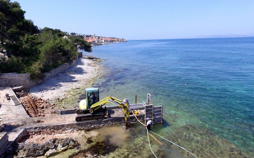 Proširenje mula i montaža Aqualifta