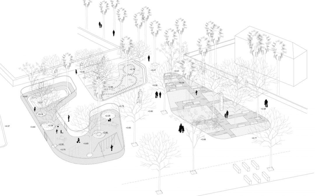Idejni projekt uređenja parka na šetnici